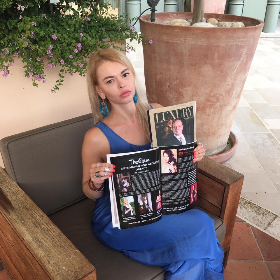 11 - Катерина - основатель брачного агенства в Монако