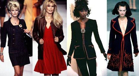 платья в стиле 90 х годов фото