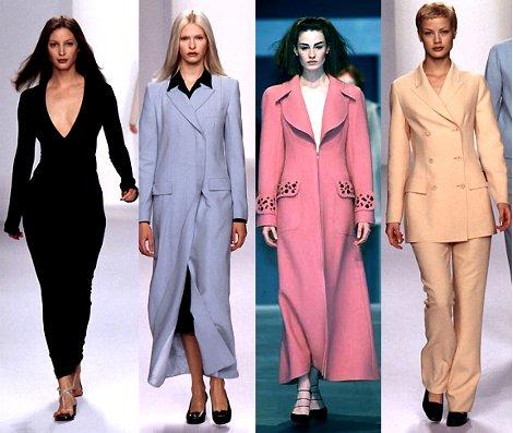 Макияж: стили XX века. 90-е годы: Смешение стилей.