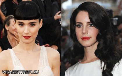 Актрисы с черными волосами фото
